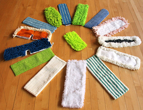 Brooms, Mops and Cloths