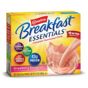NESTLE CARNATION INSTANT BREAKFAST POWDER : 5000048650 CS       $36.53 Stocked