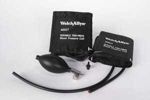 WELCH ALLYN ANEROID ACCESSORIES & PARTS : 5082-25 EA                   $42.64 Stocked