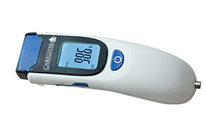 THERMOMEDICS CAREGIVER NON-CONTACT THERMOMETER : PRO-TF300-CS EA $195.00 Stocked