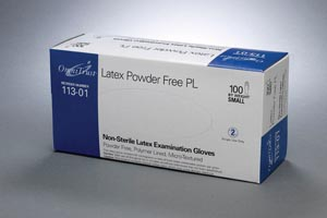 OMNI INTERNATIONAL OMNITRUST™ LATEX POWDER FREE PL EXAMINATION GLOVE : 113-01 CS                       $45.50 Stocked