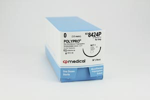 CP MEDICAL POLYPRO NON-ABSORBABLE SUTURE : 8424P BX                       $27.83 Stocked