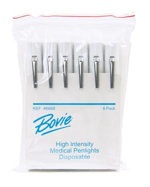 SYMMETRY SURGICAL AARON PHYSICIAN'S PENLIGHT : 6666 PK $7.80 Stocked