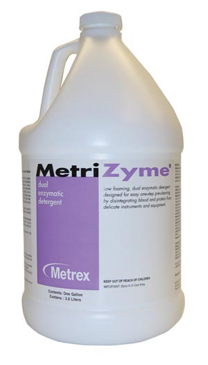 METREX METRIZYME DUAL ENZYMATIC DETERGENT : 10-4000 CS $319.12 Stocked