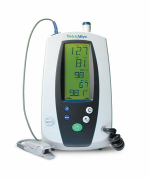 WELCH ALLYN SPOT VITAL SIGNS WITH NELLCOR : 42NTB-E1 EA  $3342.46 Stocked