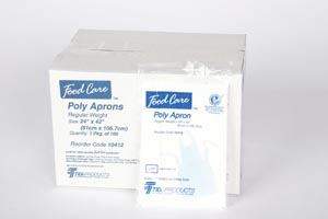 TIDI PREMIUM POLY APRONS : 10403 CS $55.06 Stocked