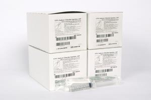 BD POSIFLUSH� NORMAL SALINE SYRINGES : 306500 CS  $84.12 Stocked