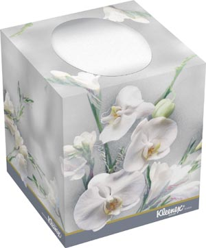 11 x 10 facial tissue unobtrusive way