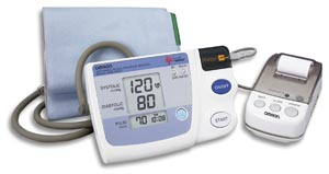 OMRON MEMORY, PRINT-OUT & GRAPH BLOOD PRESSURE MONITOR : HEM-705CPN EA                $123.17 Stocked