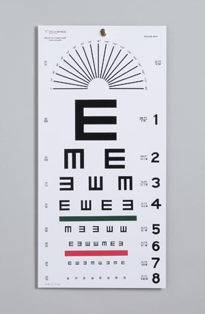 TECH-MED EYE CHARTS : 3051 EA                $3.97 Stocked