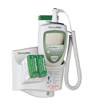 WELCH ALLYN SURETEMP PLUS ELECTRONIC THERMOMETER : 01690-400 EA $313.13 Stocked