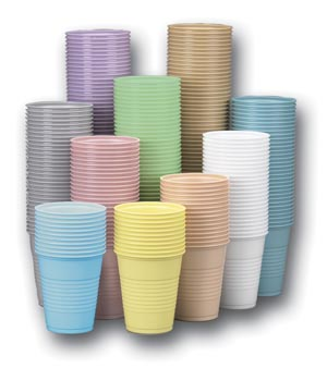 CROSSTEX PLASTIC CUPS : CXDR CS