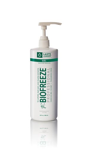HYGENIC/PERFORMANCE HEALTH BIOFREEZE PROFESSIONAL TOPICAL PAIN RELIEVER : 13429 CS                   $640.36 Stocked