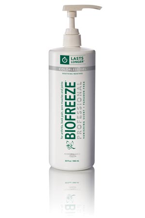 HYGENIC/PERFORMANCE HEALTH BIOFREEZE PROFESSIONAL TOPICAL PAIN RELIEVER : 13431 CS                       $624.42 Stocked