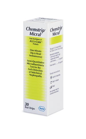 ROCHE CHEMSTRIP® URINALYSIS PRODUCTS : 11544039160 EA