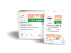 ANSELL ENCORE HYDRASOFT™ POWDER-FREE STERILE SURGICAL GLOVES : 2018660 CS $279.50 Stocked