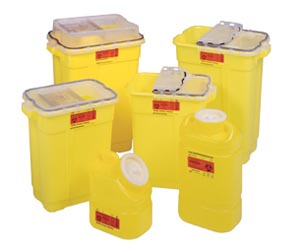 BD CHEMOTHERAPY SHARPS COLLECTORS : 305604 CS $208.74 Stocked