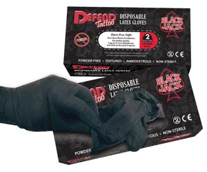 MYDENT BLACKJACK POWDER-FREE LATEX GLOVES : LG-8004 CS      $83.85 Stocked