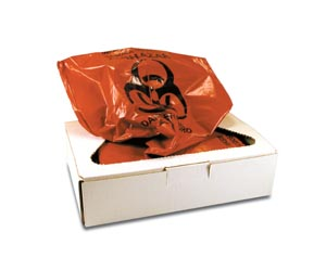 CERTOL INFECTIOUS WASTE COLLECTION BAG : PW2010 BX $38.56 Stocked