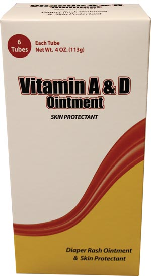 NEW WORLD IMPORTS CAREALL VITAMIN A&D OINTMENT : VAD4 CS $72.85 Stocked