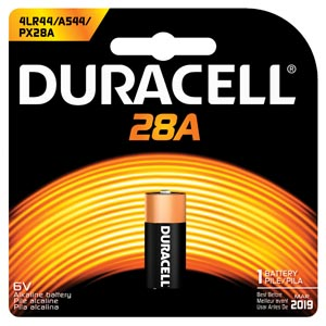 DURACELL MEDICAL ELECTRONIC BATTERY : PX28ABPK BX                $16.54 Stocked