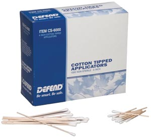 MYDENT DEFEND COTTON TIP APPLICATORS : CS-3000 BX      $5.53 Stocked