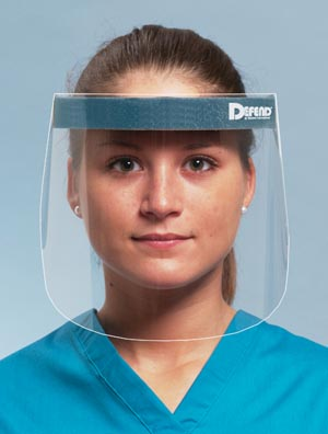 MYDENT DEFEND FACE SHIELDS : MK-3000 CS