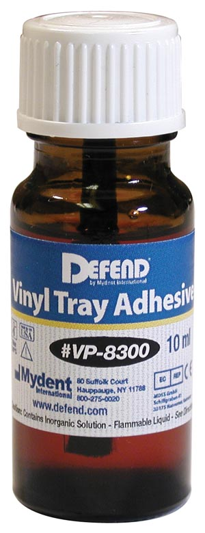 MYDENT DEFEND VINYL TRAY ADHESIVE : VP-8300 EA                       $10.21 Stocked