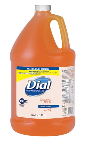 DIAL GOLD ANTIMICROBIAL LIQUID HAND SOAP : 2340088047 CS                       $56.58 Stocked