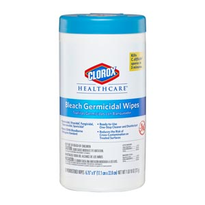 CLOROX HEALTHCARE BLEACH GERMICIDAL CLEANERS : 35309 CS                       $64.55 Stocked