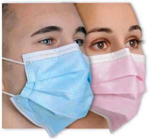 """MYDENT DEFEND """"DIFFUSER"""" ANTI-FOG EARLOOP FACE MASK : MK-1056 BX $9.77 Stocked"""