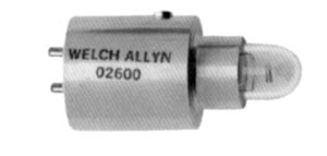 WELCH ALLYN REPLACEMENT LAMPS : 02600-U EA