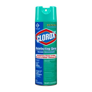 CLOROX DISINFECTING PRODUCTS : 38504 CS