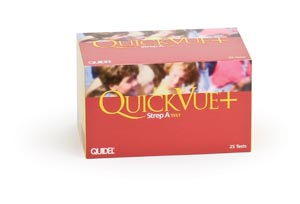 QUIDEL QUICKVUE+ STREP A TEST : 20122 KT                       $84.33 Stocked