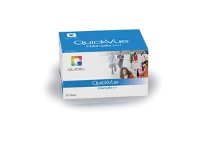 QUIDEL QUICKVUE CHLAMYDIA TEST : 0B006 KT                       $301.04 Stocked