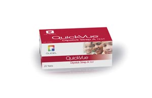 QUIDEL QUICKVUE DIPSTICK STREP A TEST : 20108 KT $101.11 Stocked