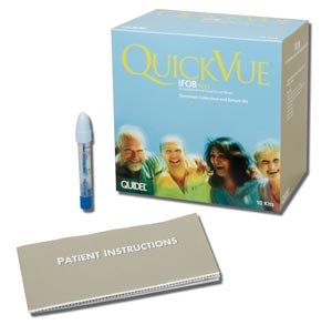 QUIDEL QUICKVUE iFOB SPECIMEN COLLECTION KIT : 20196 KT $52.13 Stocked
