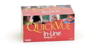 QUIDEL QUICKVUE IN-LINE STREP A KIT : 0343 KT                       $98.16 Stocked