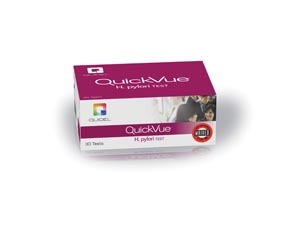 QUIDEL QUICKVUE ONE-STEP H. PYLORI GII KIT : 0W010 KT                       $379.76 Stocked