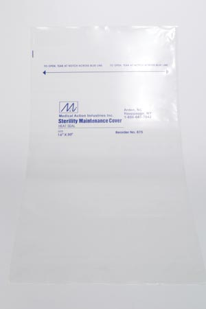 MEDEGEN STERILITY MAINTENANCE COVERS : 875 CS $119.80 Stocked