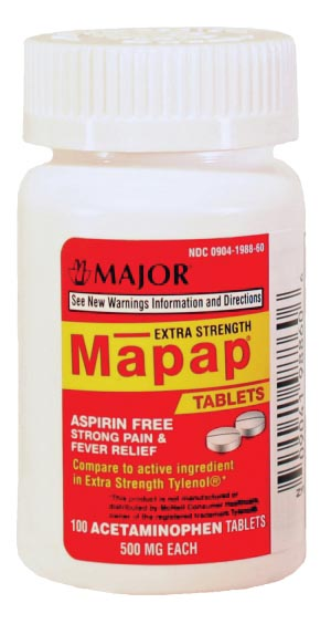 MAJOR ANALGESIC TABLETS : 253617 EA                       $1.27 Stocked