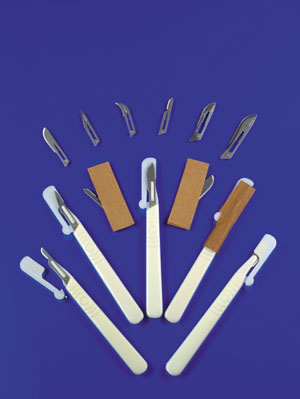 EXEL STERILE SURGICAL BLADES : 29504 CS