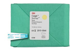 3M™ COMPLY™ (STERIGAGE™) CHEMICAL INTEGRATORS : 41360 BX $76.84 Stocked