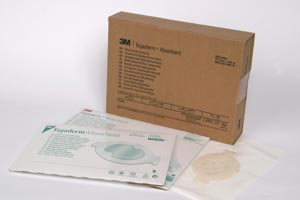 3M™ TEGADERM™ ABSORBENT CLEAR ACRYLIC DRESSINGS : 90801 BX