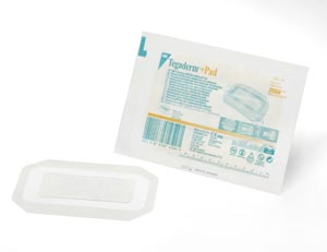 3M™ TEGADERM™ + PAD FILM DRESSING WITH NON-ADHERENT PAD : 3589 CS $190.58 Stocked