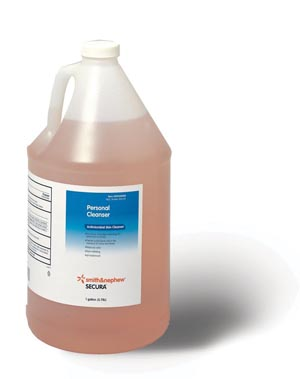 SMITH & NEPHEW SECURA™ PERSONAL CLEANSER : 59430500 CS               $121.78 Stocked