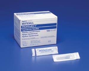 COVIDIEN/MEDICAL SUPPLIES MONOJECT™ SOFTPACK HYPODERMIC NEEDLES : 1188818100 BX $5.28 Stocked