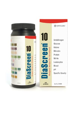ARKRAY DIASCREEN� REAGENT STRIPS FOR URINALYSIS : D11000 BX $19.05 Stocked