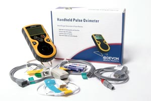 DEVON PC66/PC66C HANDHELD PULSE OXIMETER : PC-66C EA $285.75 Stocked