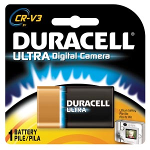 DURACELL� PROCELL� LITHIUM BATTERY : DLCRV3BPK BX       $74.13 Stocked